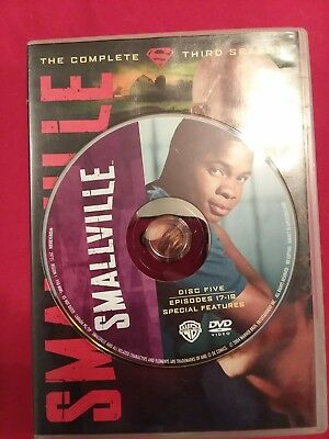 Smallville - Season 3 Disc 5 REPLACEMENT DISC only