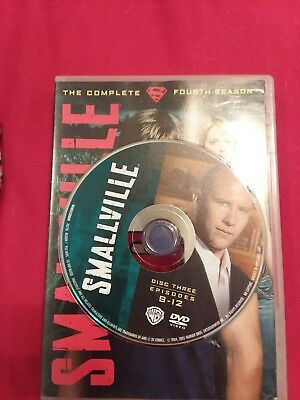 Smallville - Season 4 Disc 3 REPLACEMENT DISC only