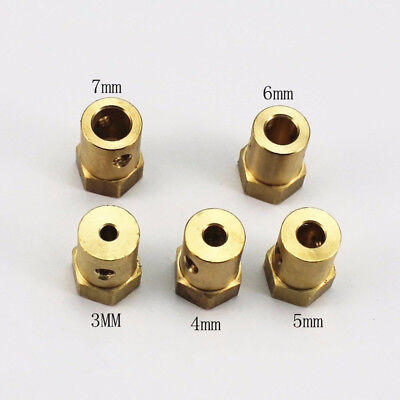 For RC Car Wheels Tires Shaft Motor Flexible Coupling Coupler 12mm Hex Connector