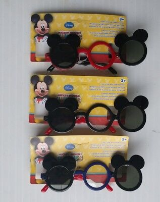 Disney Mickey Mouse Clubhouse Flip Up Sunglasses for Kids Ages 3+ - (1 Pair)