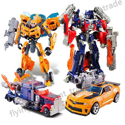 Dark of the Moon Transformers Autobots Optimus Prime Action Figures Toy Robot AU