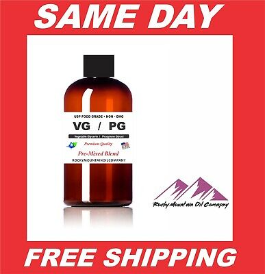 Vegetable Glycerin Propylene Glycol Food Grade Pg Vg Blend 80 20 70 30 Liquid
