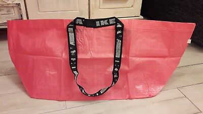 ikea tasche tragetasche xxl shopper pink limited edition neuware eur 5 50 picclick de. Black Bedroom Furniture Sets. Home Design Ideas