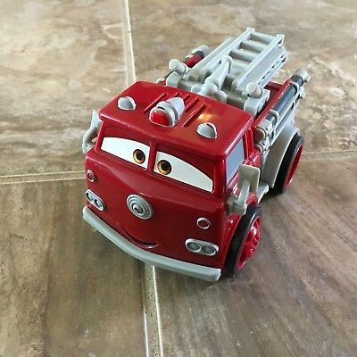 Disney Pixar Cars Shake N Go Red Fire Truck Radiator Springs