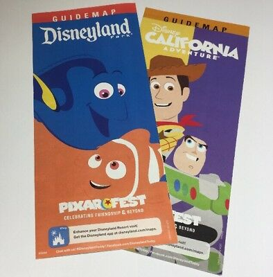 Disneyland and Disney California Park Maps - Pixar Fest