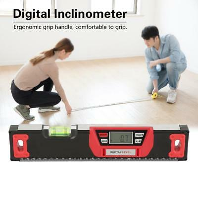 300mm Digital Spirit Level Inclinometer Electronic Protractor Angle Laser Level