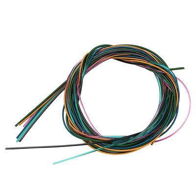 6pcs/set Colorful Guitar Strings Fit for all size Classical Electric Guitar Bass