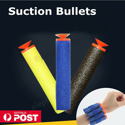 30-200Pcs Toy Gun Darts Suction Cup Bullets Blasters For Elite Nerf N-strike AU
