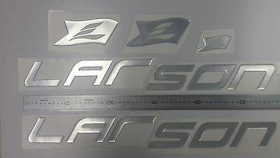 "LARSON boat Emblem 22.5"" + FREE FAST delivery DHL express - stickers decal"