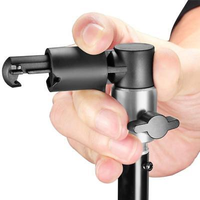 New Video Photography Studio Reflector Clip Clamp For Light Stand Holder T