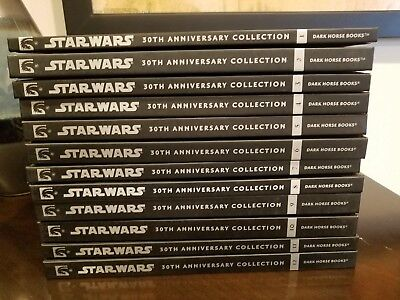 Star Wars 30th Anniversary Dark Horse Hardcover Graphic Novels Set #1-12 OOP