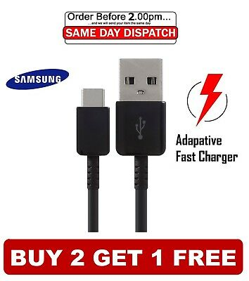 Samsung Galaxy S9 / S9+ S8 S10 Plus Type C USB-C Sync Charger Charging Cable