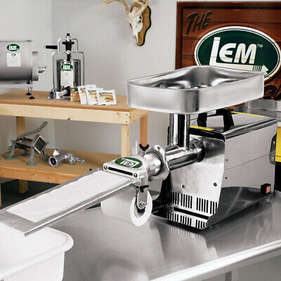 LEM #8 Patty Maker Attachment for Meat Grinders