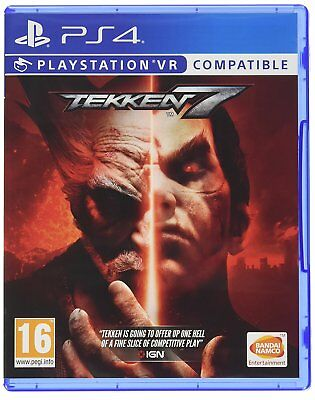Tekken 7 Sony Playstation PS4 PSVR Compatible Game - New & Sealed - FREE P&P