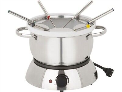 Trudeau Alto 3 in 1 Electric Fondue Set - Stainless Steel