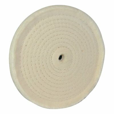 Silverline 105888 Spiral Stitched Buffing Wheel, 150 mm