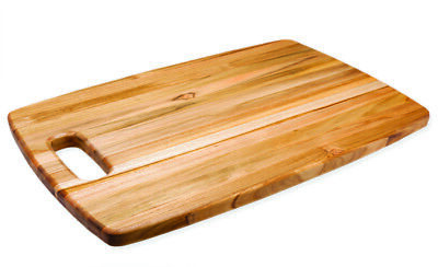 """Teakhaus by Proteak Rounded Edge Grain Wood Cutting Board - 8"""" x 12"""""""