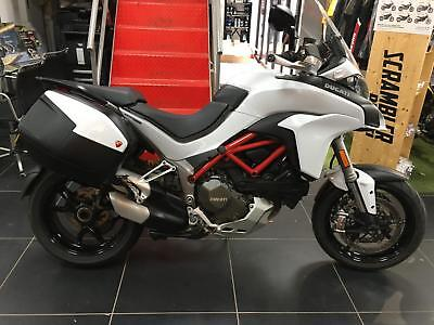 Ducati Multistrada 1200S TOURING 2016 16 1 OWNER FROM NEW