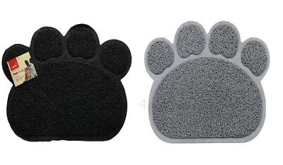 Pet Feeding Mat Paw Shape Small Dog/Puppy/Cat/Kitten Food Bowl/Dishes Place mat