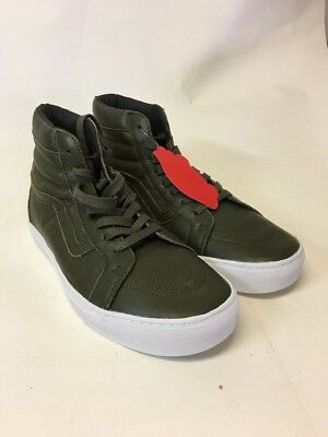 7c2895ed1f624d VANS SK8 HI CUP Leather Red Iron Skate Brown White Shoe Size Men 8 ...