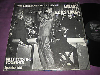 LP Billy Eckstine: Together - The Legendary Big Band Of - UK Spotlite 1006,90