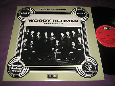 LP Woody Herman: The Uncollected 1937 - Deutschland Decca 6.23558
