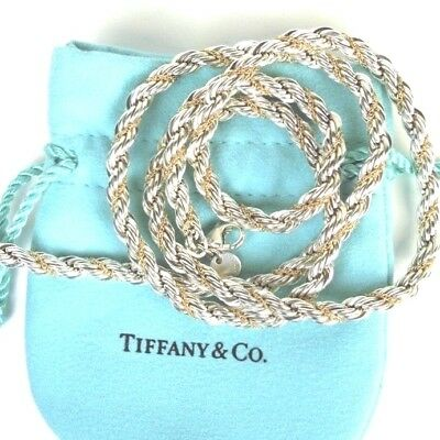 653935f70 Tiffany & Co. Sterling Silver 18K Yellow Gold 35.3 Gr 18