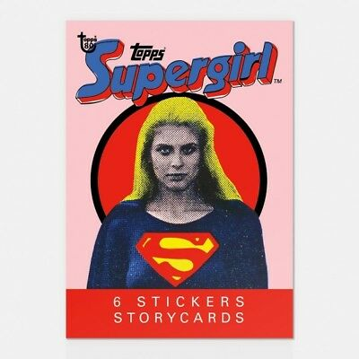 2018 Topps 80Th Anniversary Wrapper Art Card #69 1984 Supergirl