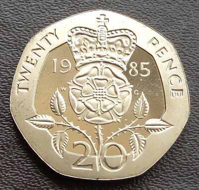1983 - 2019 Elizabeth II 20p Twenty Decimal Proof Coin - Choose Your Year