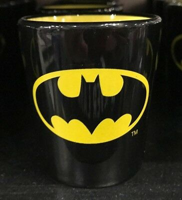 Six Flags Magic Mountain Dc Comics Batman Two Tone Shot Glass New
