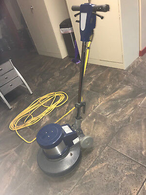 "Tennant Bluestar 17"" Low Speed Floor Buffer 1.5 HP With 10 Pads!"