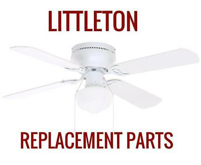 Littleton 42 In Led Indoor White Ceiling Fan Replacement Parts
