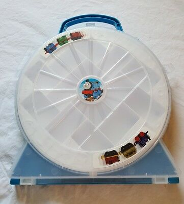 Thomas And Friends Minis Miniature Train Blue Carrying Case