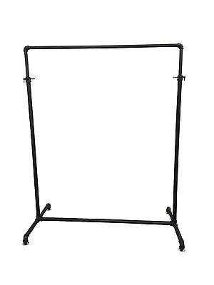 Retro / Industrial Style Black Clothing Rack