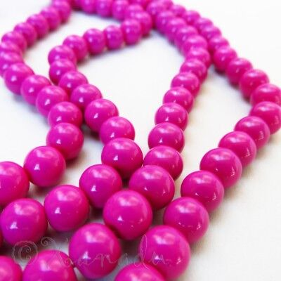 Ruby Red Wholesale 8mm Faceted Rondelle Glass Beads G2167-50 100 or 200PCs