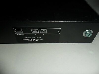 HP EO4504 Rack Modular Power Distribution Unit PDU Control 228481-006