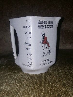Vintage JOHNNIE WALKER Whiskey PITCHER