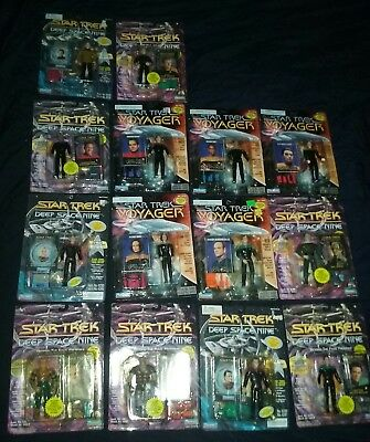 Star Trek - Deep Space Nine & Voyager Playmates Action Figures