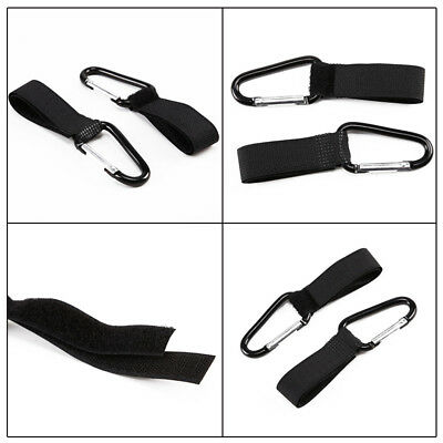 Buggy Clips x2 Large Pram Pushchair Accessory Shopping Bag Hook Mummy Carry Clip