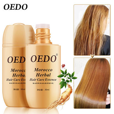 Hot OEDO Morocco Herbal Hair Care Essence Loss Treatment Fast Regrowth 30ML