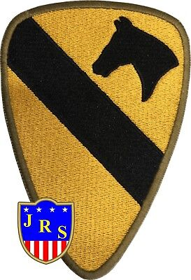 US Army Cut Edge 1st Cavalry Division Shoulder Patch