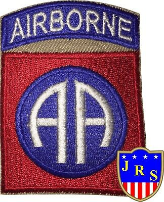 US Army Cut Edge 82nd Airborne Division Shoulder Patch