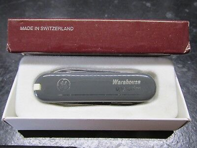 Victorinox  Classic  Swiss Army Knife with Seven Implements and GE Logo