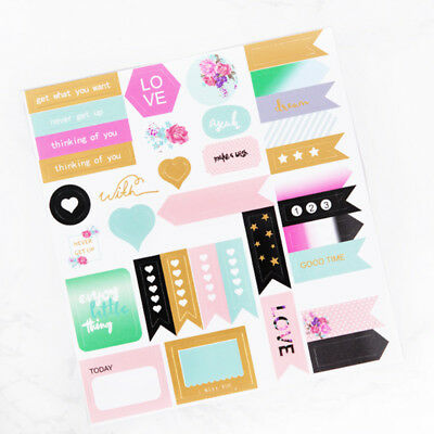 1 Pc Cute Notebook Planner Album Diary DIY Decor Diary Stationery Stickers Gifts