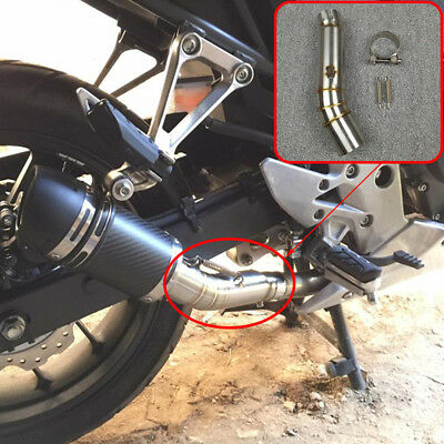 Motorcycle Exhaust Contact Middle Mid Pipe Connector For HONDA CBR500R CB500X