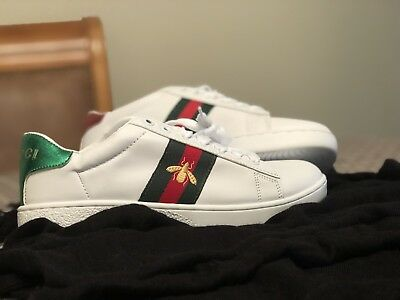 gucci ace bee sneakers mens - 61% OFF