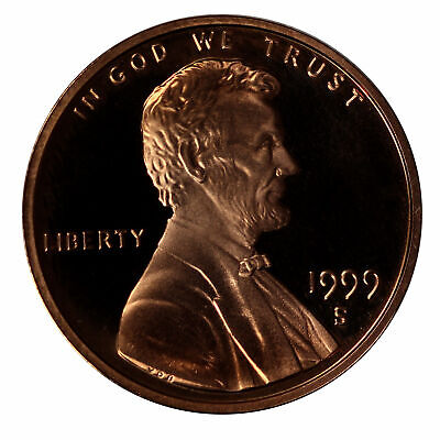 1999 -S Lincoln Memorial Cent Gem Proof Single Coin