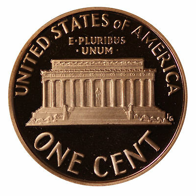 1991 -S Lincoln Memorial Cent Gem Proof Single Coin