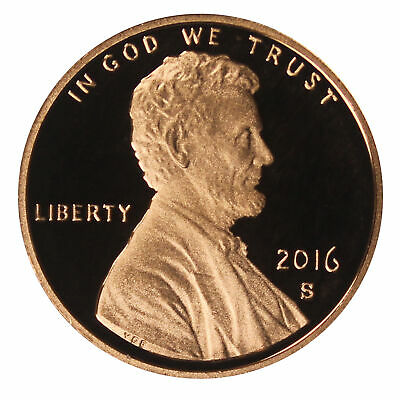 2016 -S Lincoln Shield Cent Gem Proof Single Coin