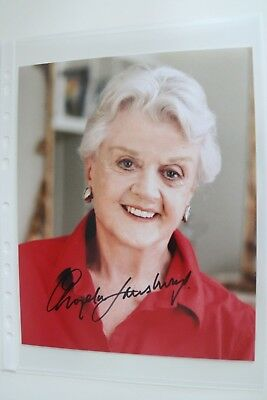 Autogramm Angela Lansbury 8x10 inch Murder Mord original autograph signed photo